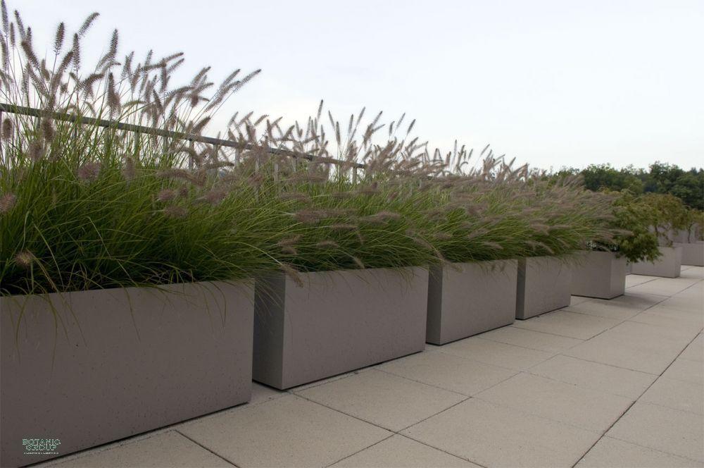 pflanzgefäß faserzement, pflanzkübel viereck xxl | garten, Gartengerate ideen