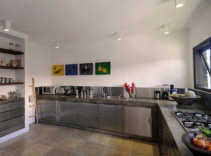 muebles de cocina en acero inoxidable - Buscar con Google | cositas ...