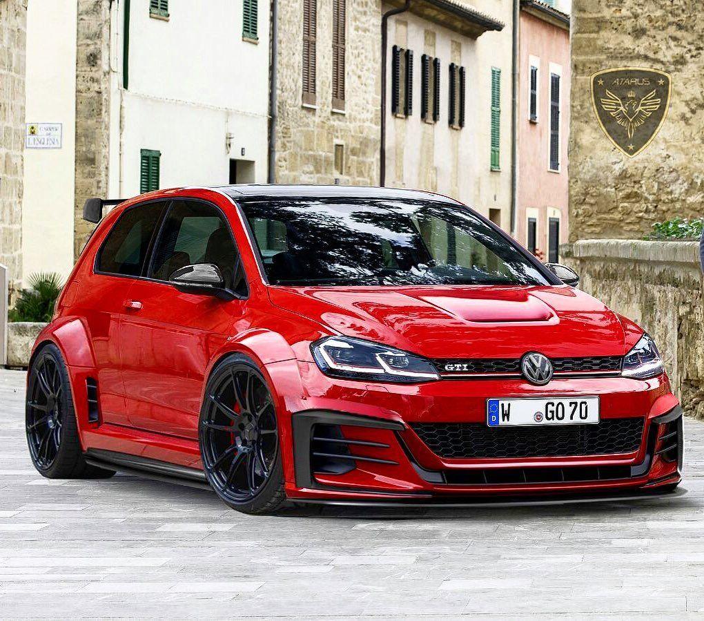Volkswagen Golf Gti Mk7 Thor Widebody By Atarius Concept Spain En 2020 Autos Deportivos Coches Chulos Coches Deportivos