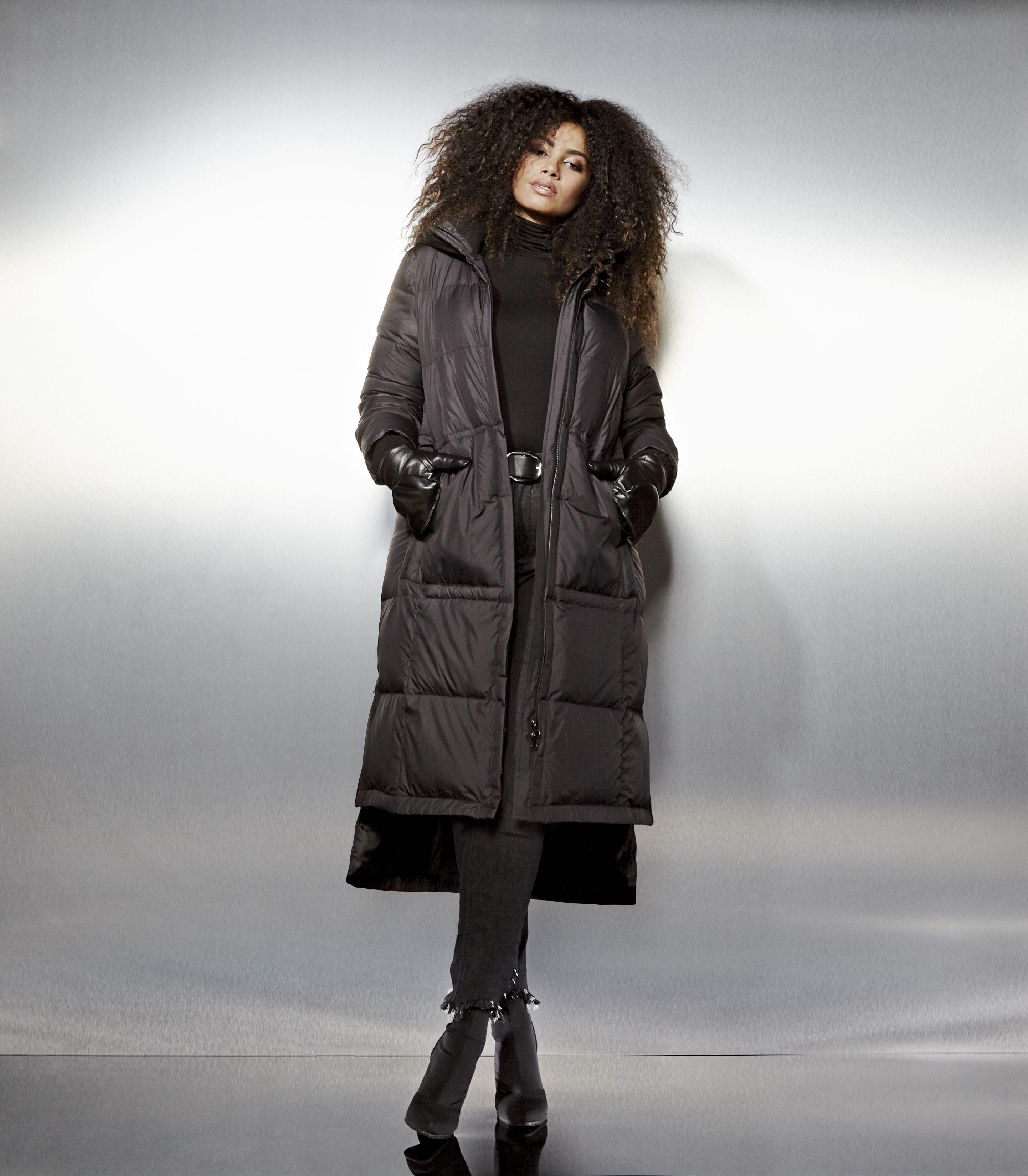 Livik Long Puffer Winter Coat Plus Size Coats Plus Size Outfits Plus Size Outerwear [ 3300 x 2884 Pixel ]