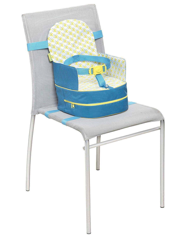 Badabulle rehausseur nomade enfant bleu ou gris rehausse de 10 cm universel convient - Rehausseur de chaise nomade ...