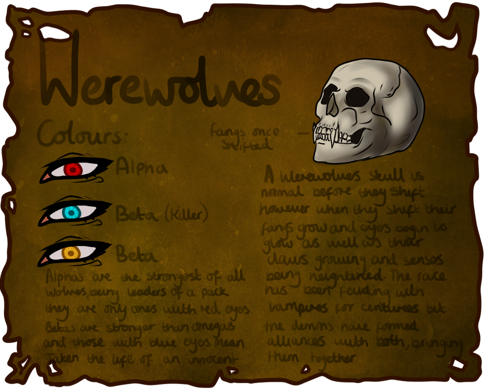 Werewolves Information by Pushingdaisies96 on deviantART
