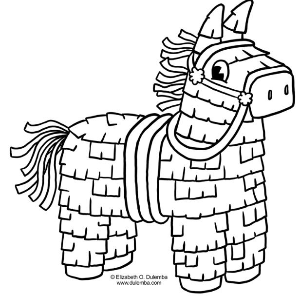 Pinata Kids Art Projects Coloring Pages Coloring Sheets For Kids