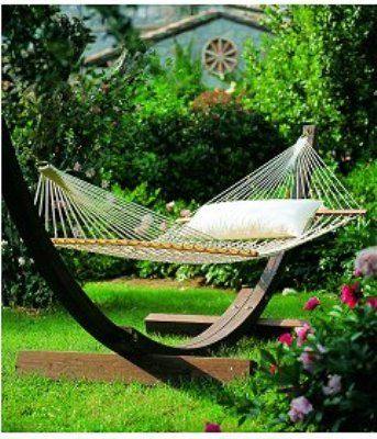 ideas-decorar-jardin | OUTDOORS | Pinterest | Jardín, Hamacas y ...