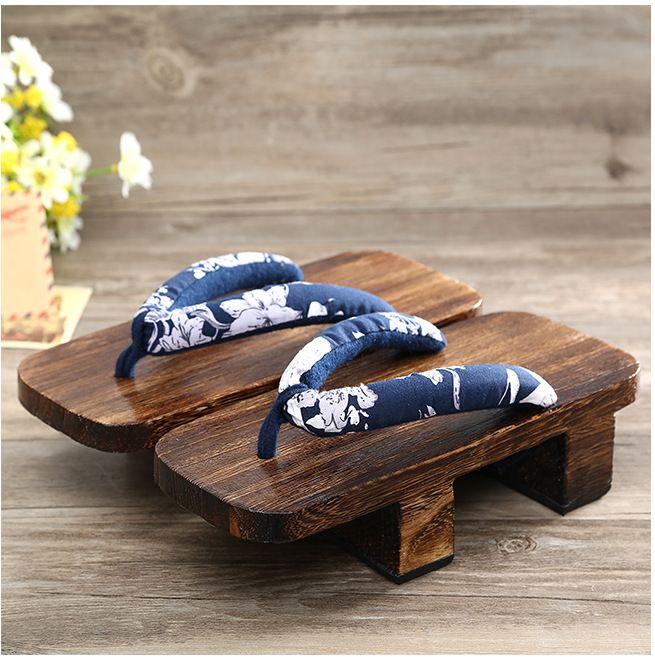 5808460af03 buy heel flip flops platform sandals japanese geta clogs for men kimono geta  onmyoji anime cosplay shoes  wooden  clogs