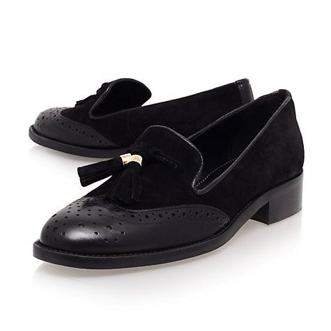 7801715d6d5 Buy Carvela Louis Tasseled Brogue Loafers Online at johnlewis.com ...