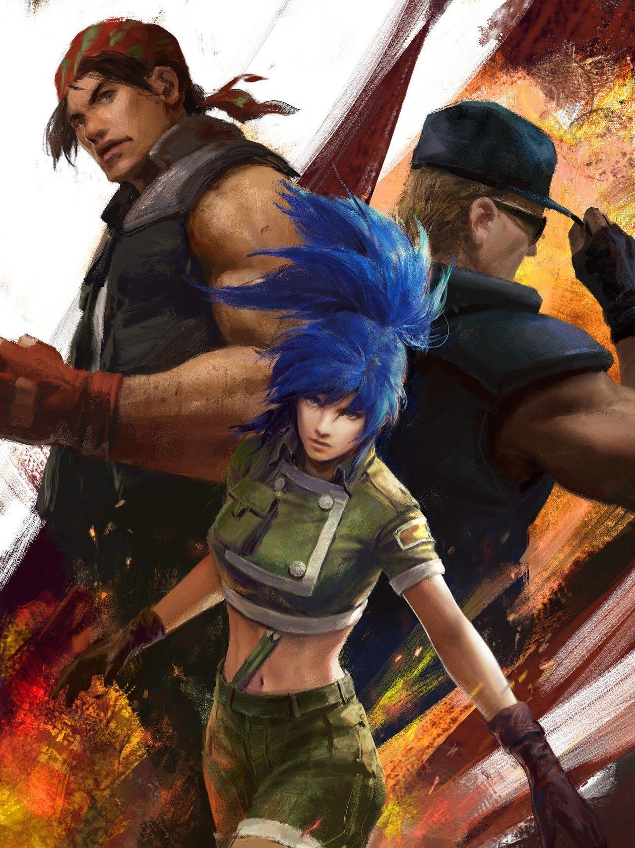 Pin De Siti Nurfadilah Em King Of Fighters King Of Fighters Lutador De Rua Personagens De Games