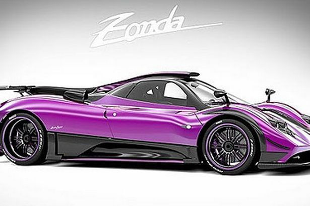 Paganis Purple Reign Reign And Cars - Cool cars quentin willson