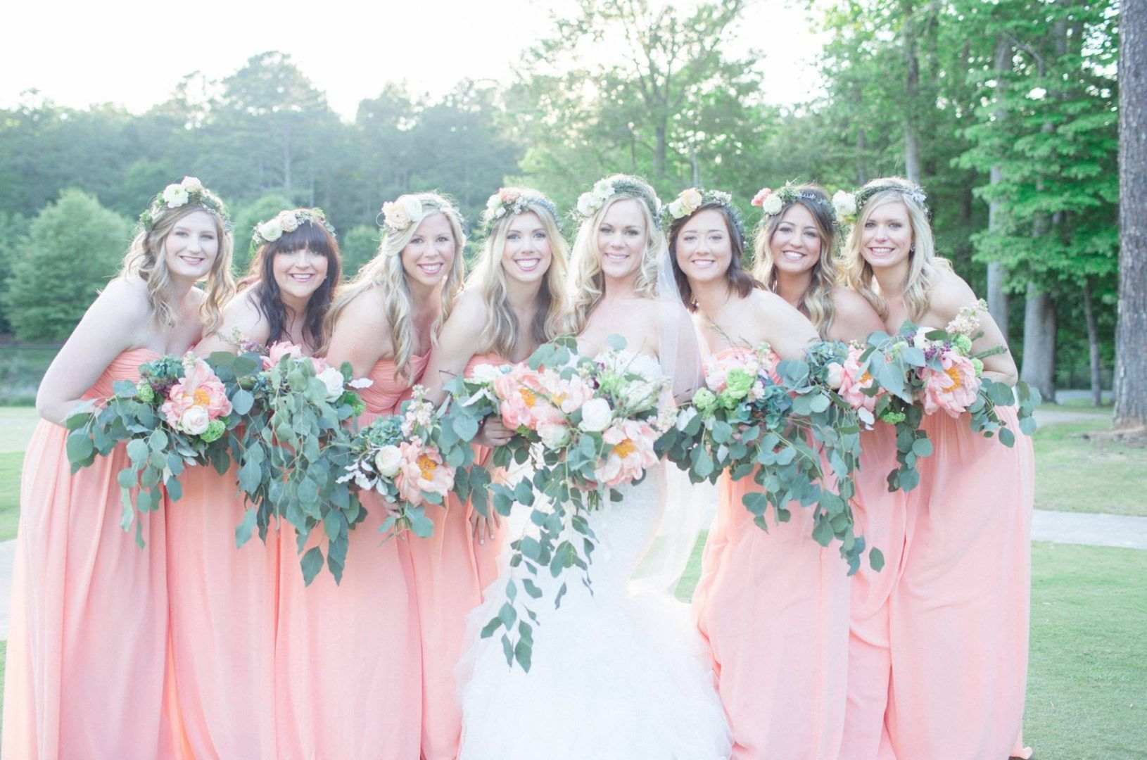 Camryn & Michael// Alabama Wedding // Donna Morgan Collection ...