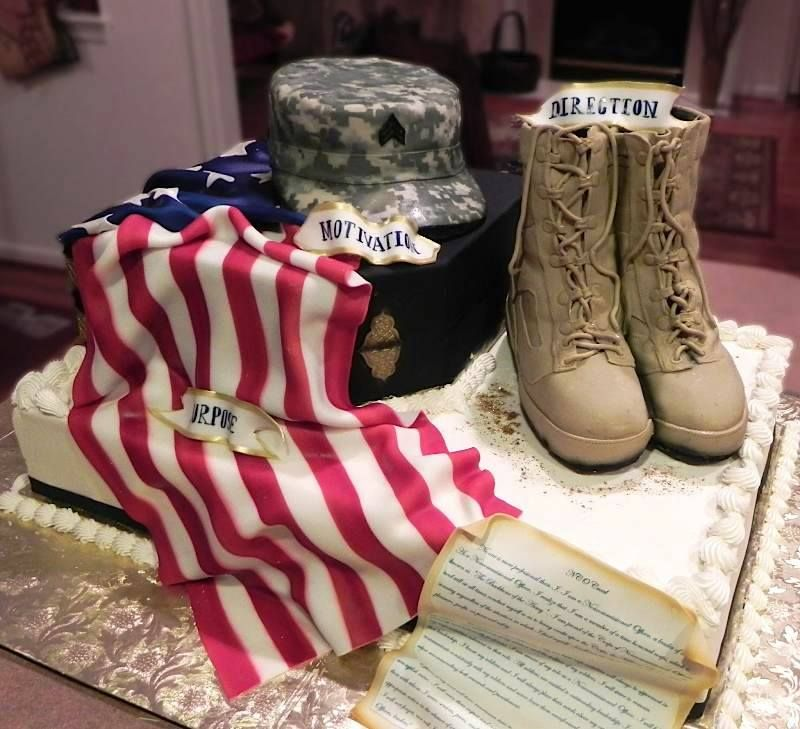 Military Spouse Creates Incredible Military Art With Cake Batter