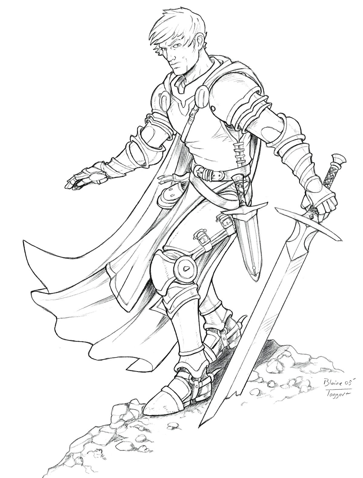 A Young Knight By Staino Jpg 1198 1578 Knight Drawing Princess Coloring Pages Character Design Male