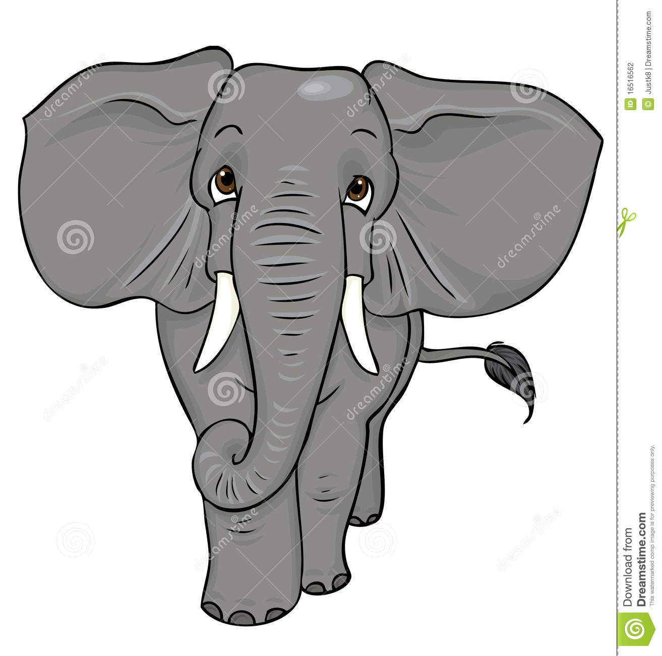 Cartoon Elephant Royalty Free Stock Photography - Image: 12610867 ...