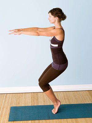Fat burning yoga workout!