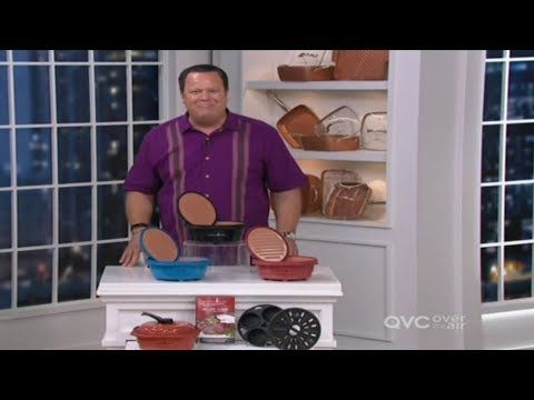 Copper Chef Microwave Grill On Qvc With Host David Venable