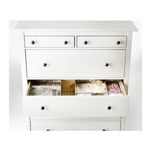 Hemnes komoda 6 z suviek bielo moren hemnes drawers and apartments - Hemnes cassettiera ikea ...