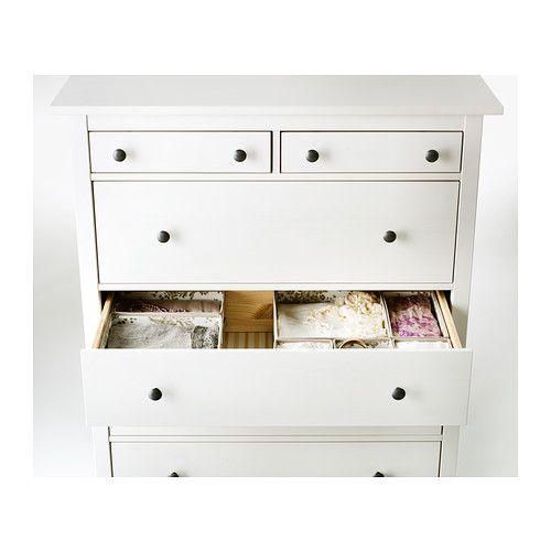 Hemnes commode 6 tiroirs teint blanc pinterest tiroirs ikea hemnes et commodes - Ikea commode hemnes 6 tiroirs ...