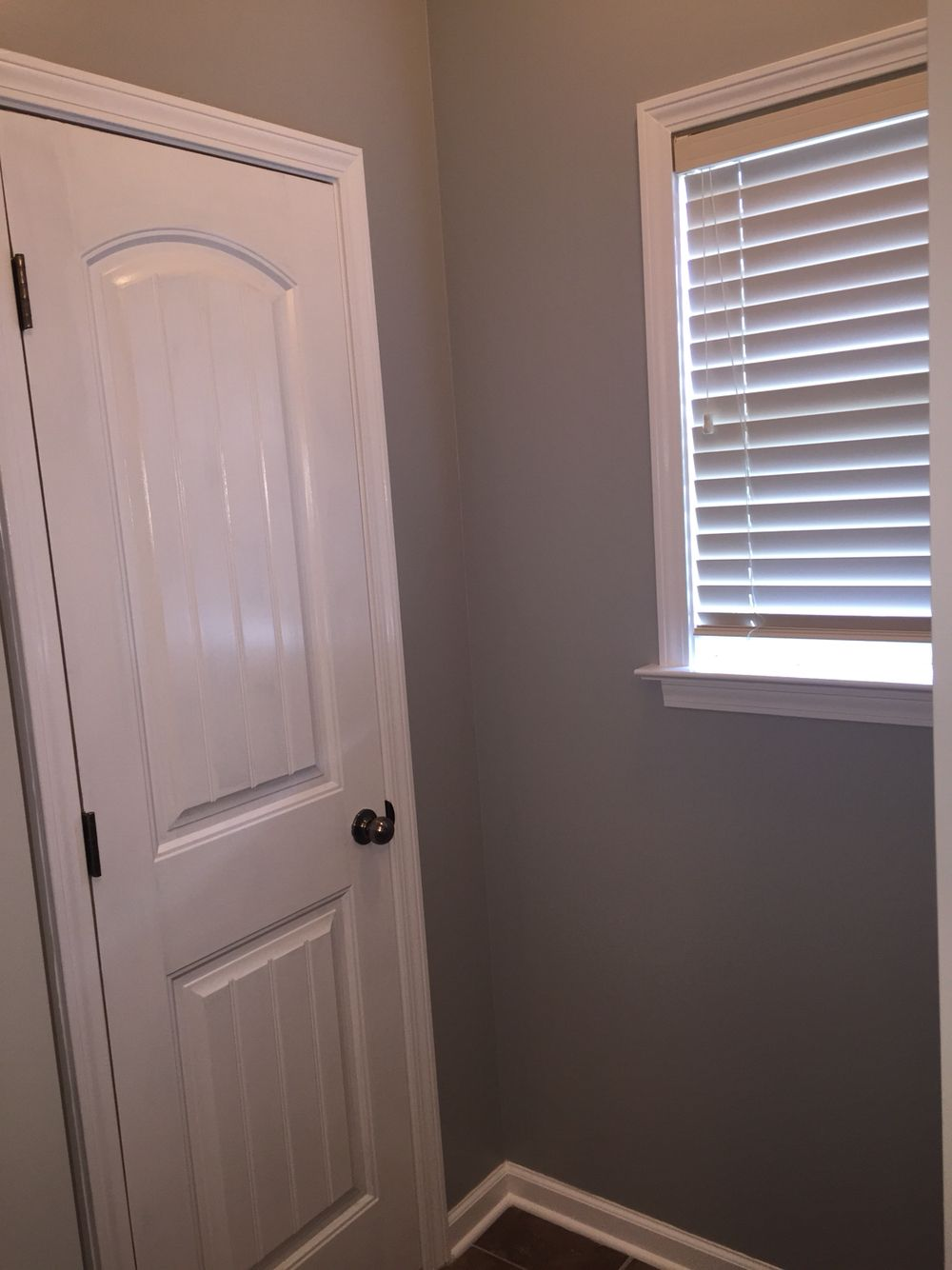 Urban Sunrise By Valspar With Bright White Trim All Painted With Valspar Reserve Room Paint Family Room White Trim