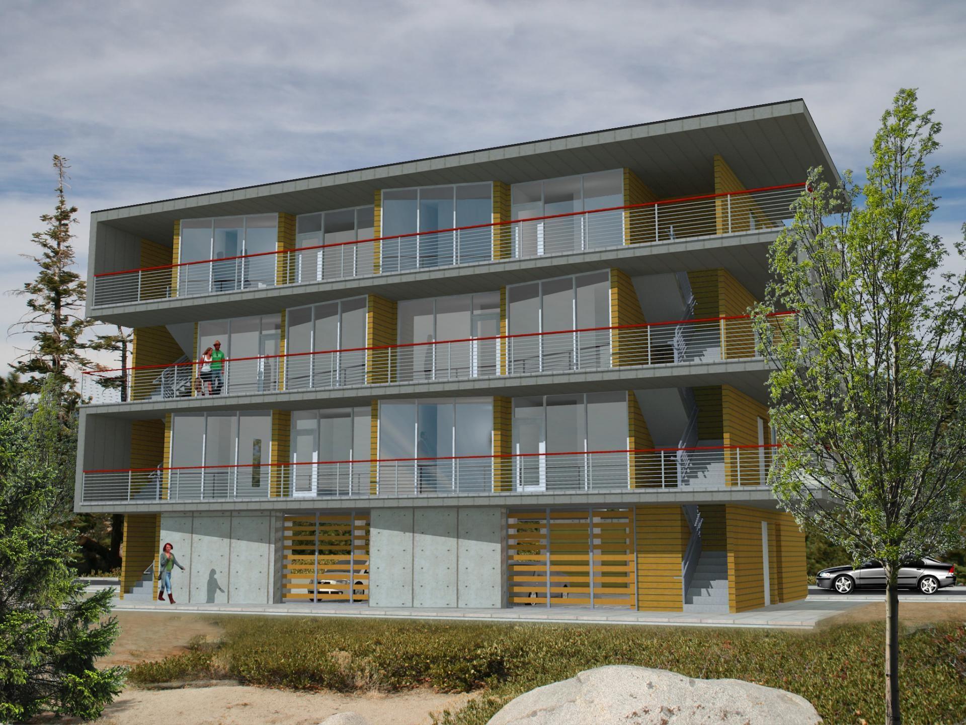 Modern multi family modular homes