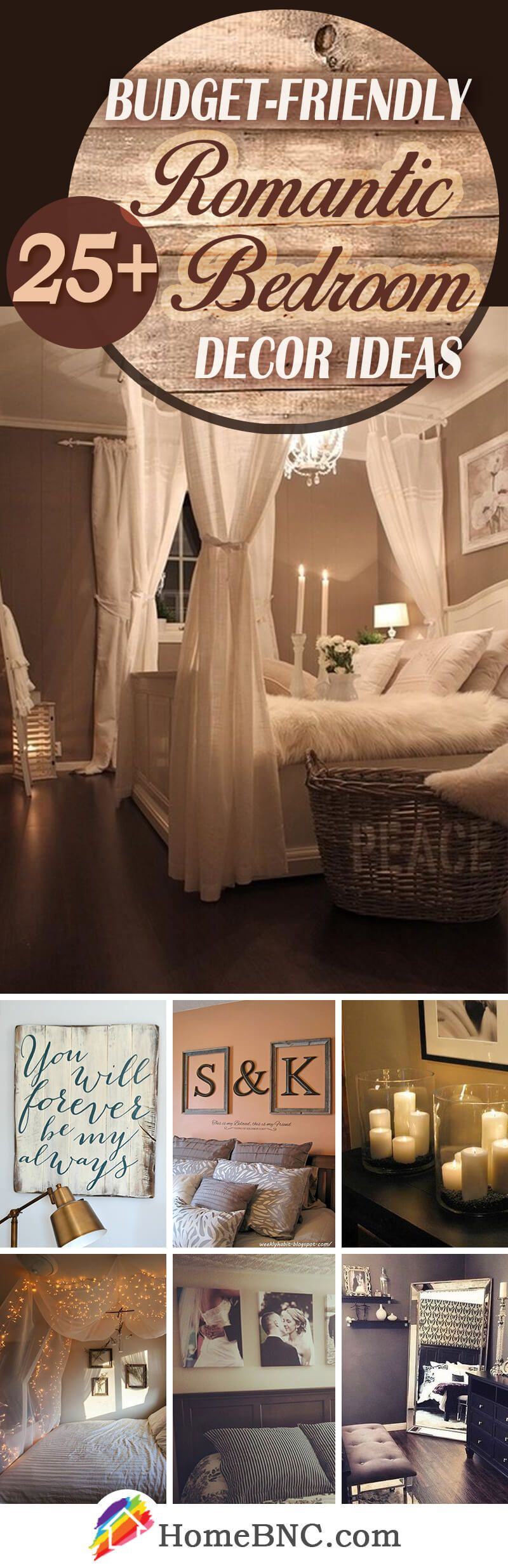 Uberlegen 25+ Romantic Bedroom Decor Ideas To Make Your Home More Stylish On A Budget