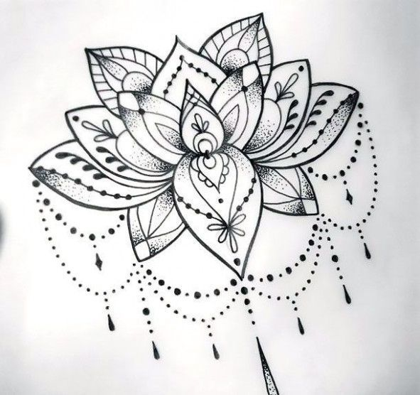 Awesome!! 2 New Thoughts About New Lotus Flower Tattoo Designs That Will Turn Your World Upside Down