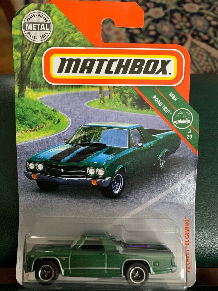 2019 Matchbox 20 1970 Chevy El Camino Green Car Truck MBX