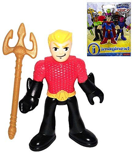 Aquaman Blind Bag Fisher Price Imaginext DC Super Friends...
