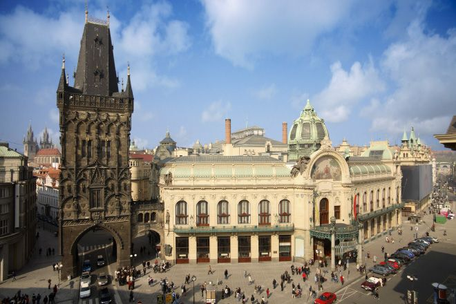 See the beautiful architecture in Prague