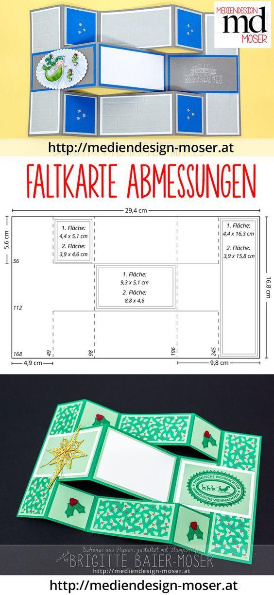 Faltkarte mit Märchenmotiven - inkl. Anleitung | Mediendesign Moser