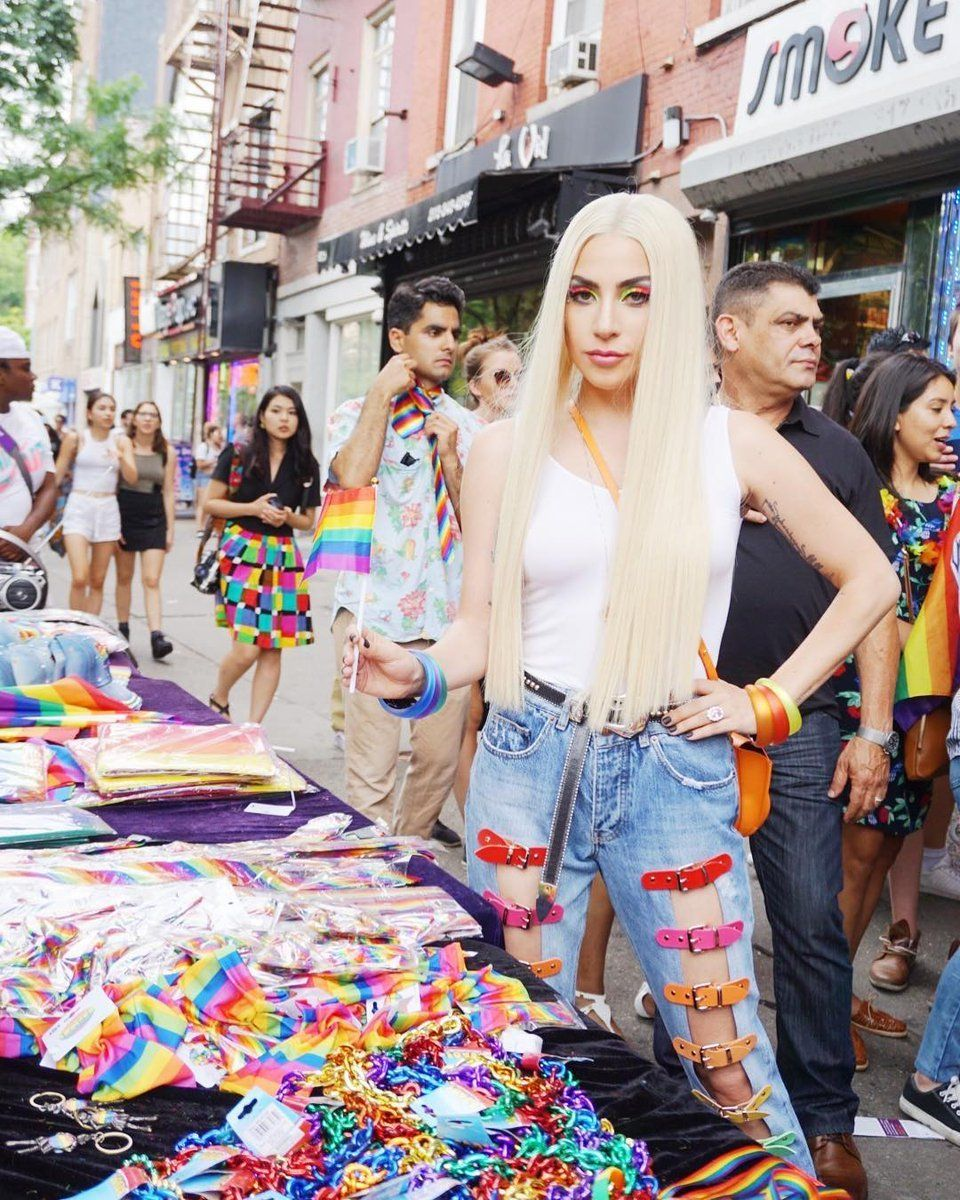 10d3e9375a62 ... New York City Pride March on Sunday. Lady GaGa