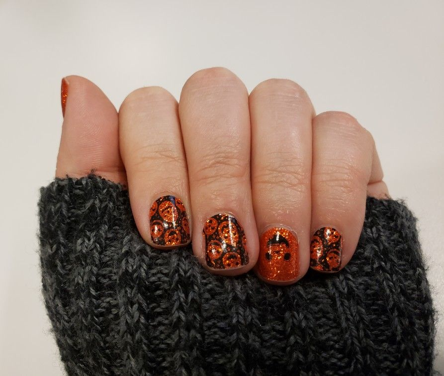 Color Street Nails #OhMyGourd #ColorStreet #easynails # ...