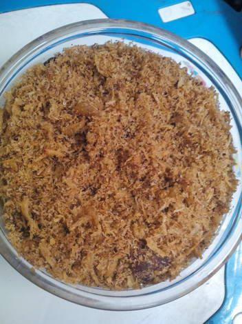 Resep Serundeng Kelam Kelapa Ayam Oleh Niken Indriati Resep Resep Makanan Ayam