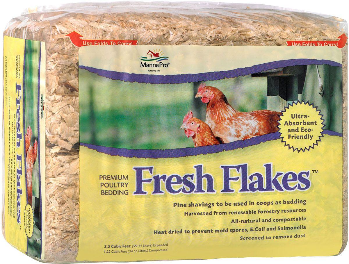 Fresh Flakes Poultry Bedding 12 lb Manna pro, Poultry