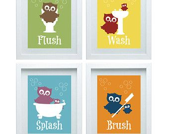 Beautiful Kids Bathroom Decor Owl Home Design Ideas - Owl bathroom decor set for small bathroom ideas