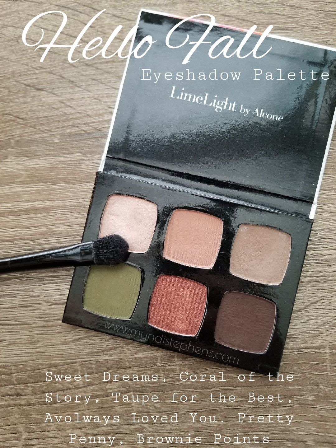 Hello Fall 6 Well Eyeshadow Palette From Limelife By Alcone