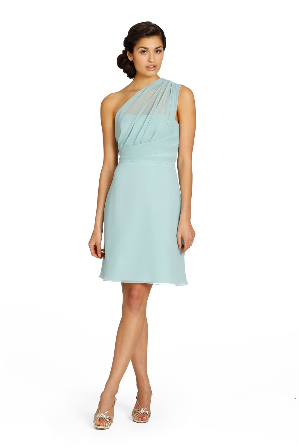 Our favourite one shoulder bridesmaid dresses jim hjelm our favourite one shoulder bridesmaid dresses ombrellifo Gallery