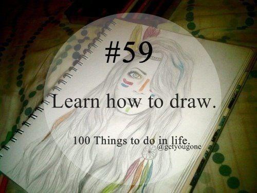 Apprendre à dessiner ✏