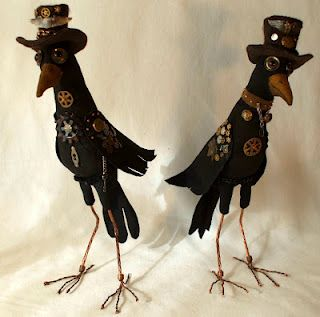 Steampunk Crows