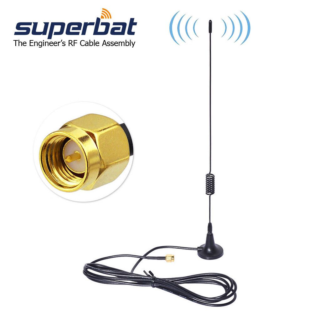 5 29 868mhz 915mhz Zigbee 5dbi Sma Magnetic Base Antenna For