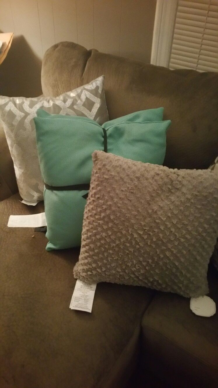 My Pillow Setup From Marshalls At Home And T J Maxx Living