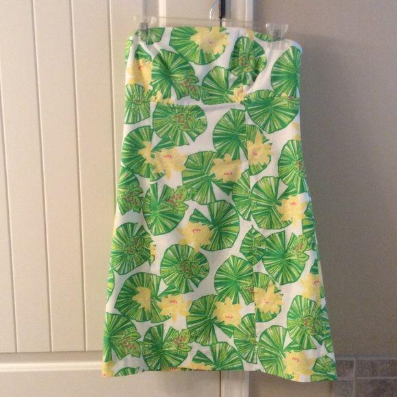 Lily Pulitzer dress Strapless sundress Lilly Pulitzer Dresses Strapless