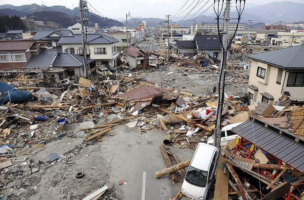 Japan earthquake and tsunami: list of impacts of disaster