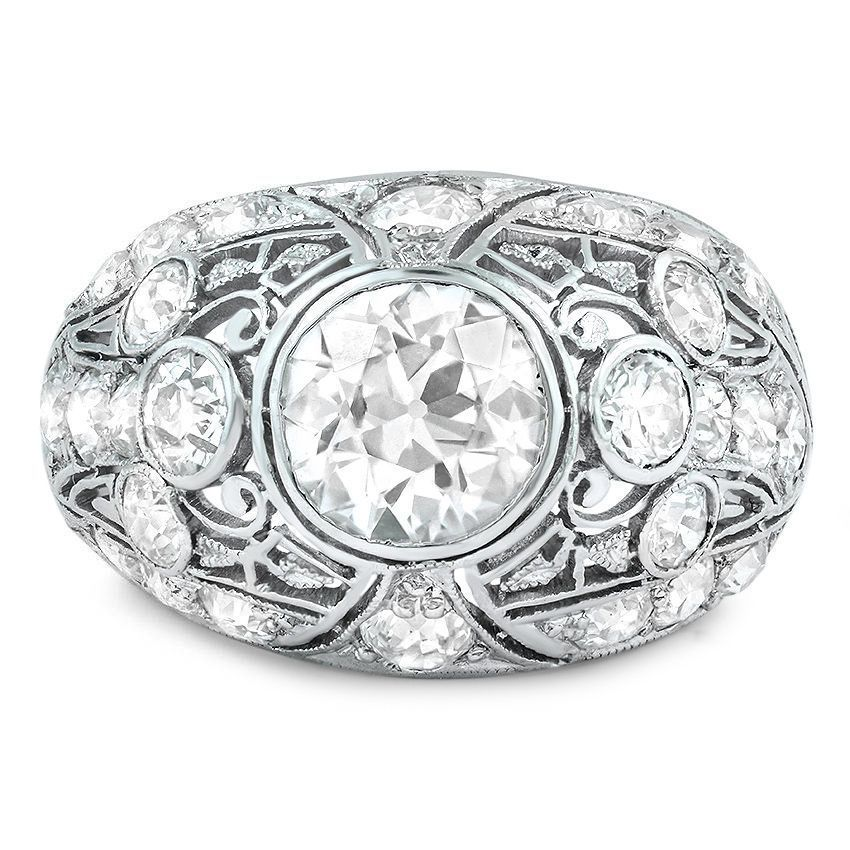 Platinum The Maui Ring from Brilliant Earth