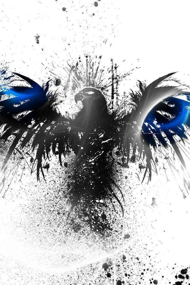 Hawk Painting IPhone Wallpaper