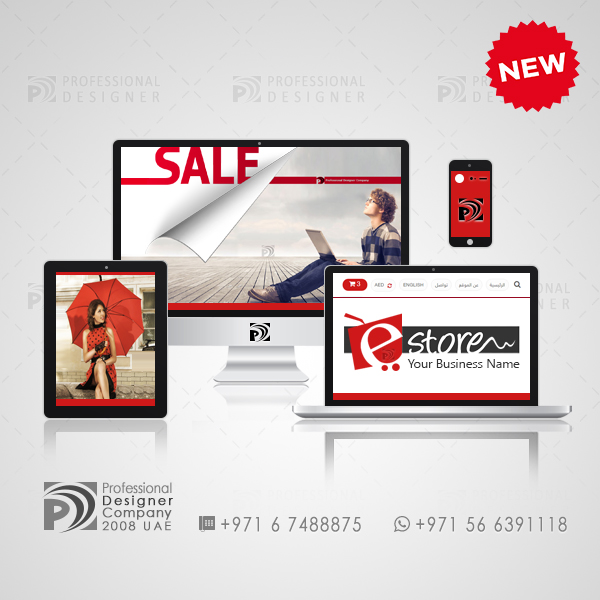 تصميم متاجر الكترونية متجر الكتروني جاهز Website Template Website Design Business Names