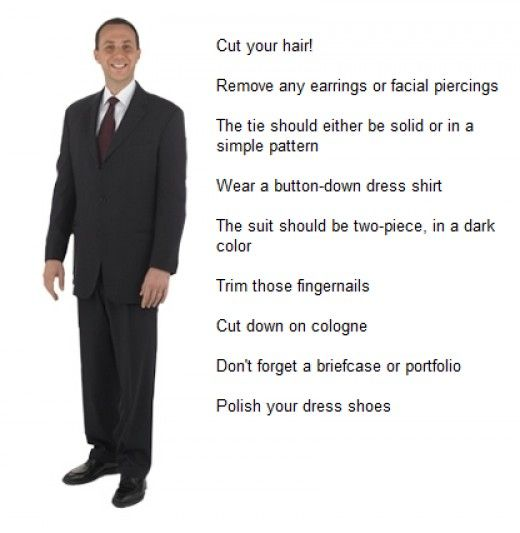 What men should wear to an interview | Best outfits, Tips for ...