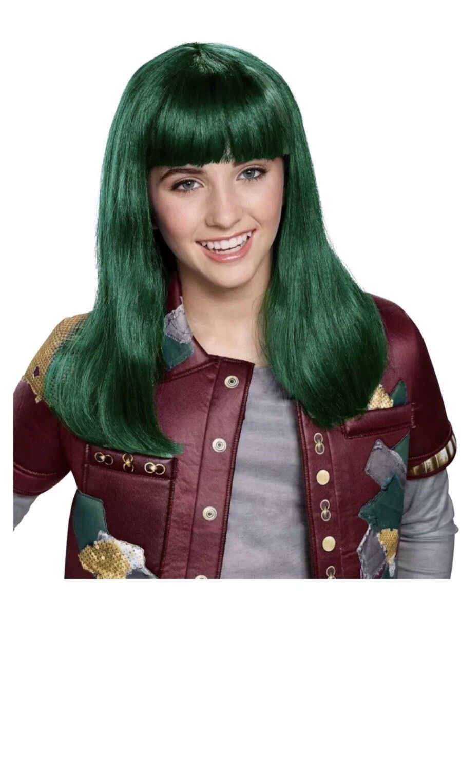 14 99 Girls Disney Zombies Zoey Eliza Wig Halloween Costume Girls Disney Zombies Zoey Eliza Ha Halloween Costume Wigs Halloween Girl Costume Wigs