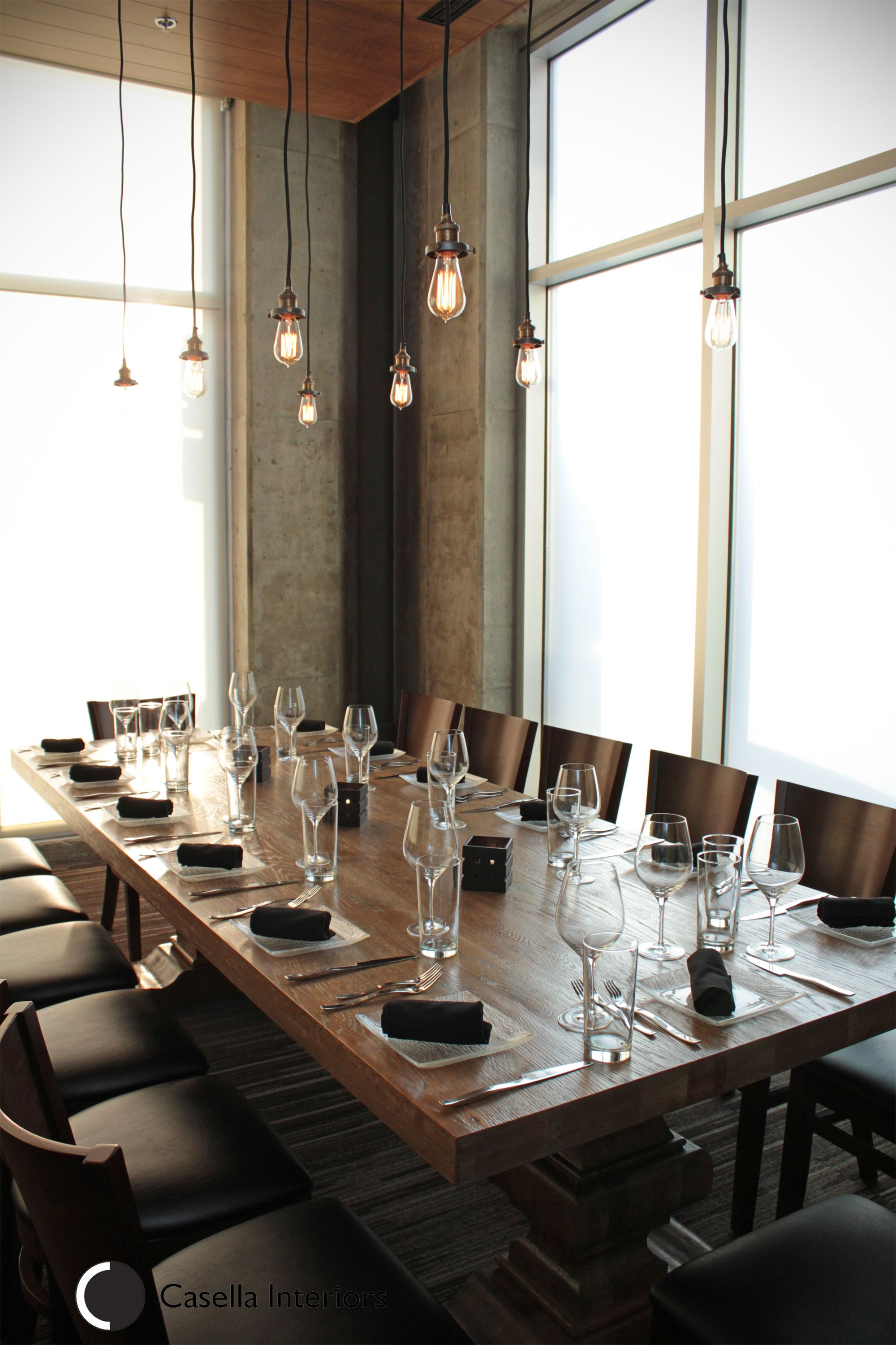 Private Dining Area At Etch Designed By Caa Interiors