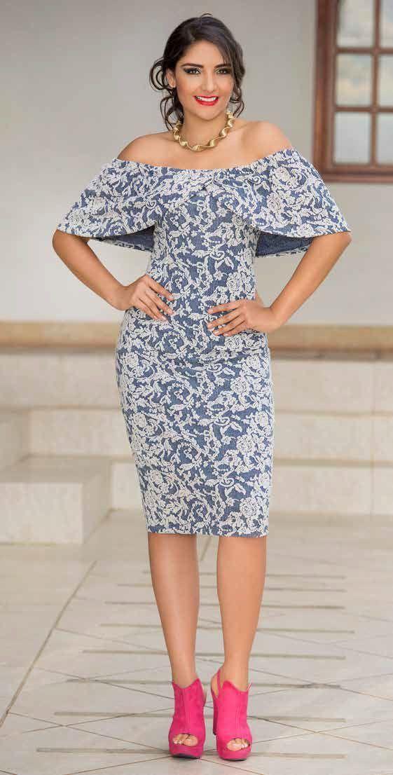 Pin von Paulina Iza auf Vestidos | Pinterest | Kleider und Blau