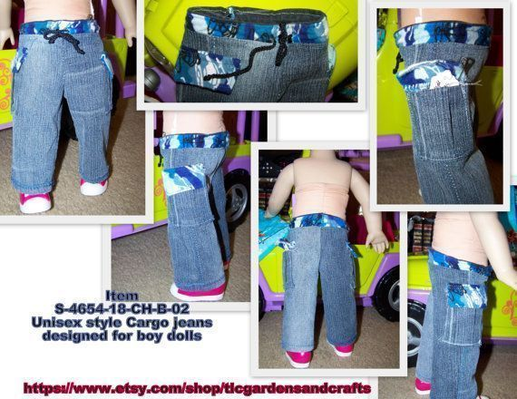 18 inch Boy Doll jeans, Unisex AG Doll Cargo pants, American Girl Doll Cargo pants for boy doll; Item S-4654-18-CHB-02 #boydollsincamo 18 inch Boy Doll jeans, Unisex AG Doll Cargo pants, American Girl Doll Cargo pants for boy doll; Item S-4654-18-CHB-02 #boydollsincamo 18 inch Boy Doll jeans, Unisex AG Doll Cargo pants, American Girl Doll Cargo pants for boy doll; Item S-4654-18-CHB-02 #boydollsincamo 18 inch Boy Doll jeans, Unisex AG Doll Cargo pants, American Girl Doll Cargo pants for boy doll #boydollsincamo