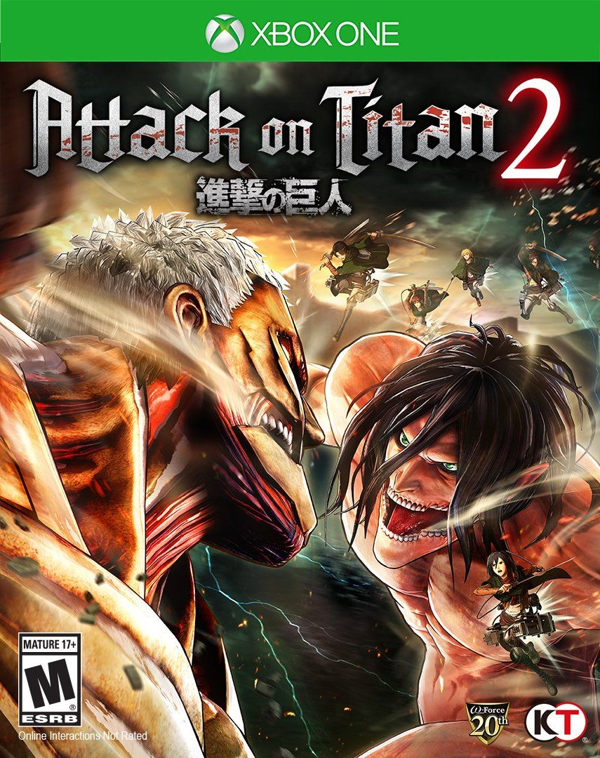 Attack On Titan 2 (With images) Attack on titan 2